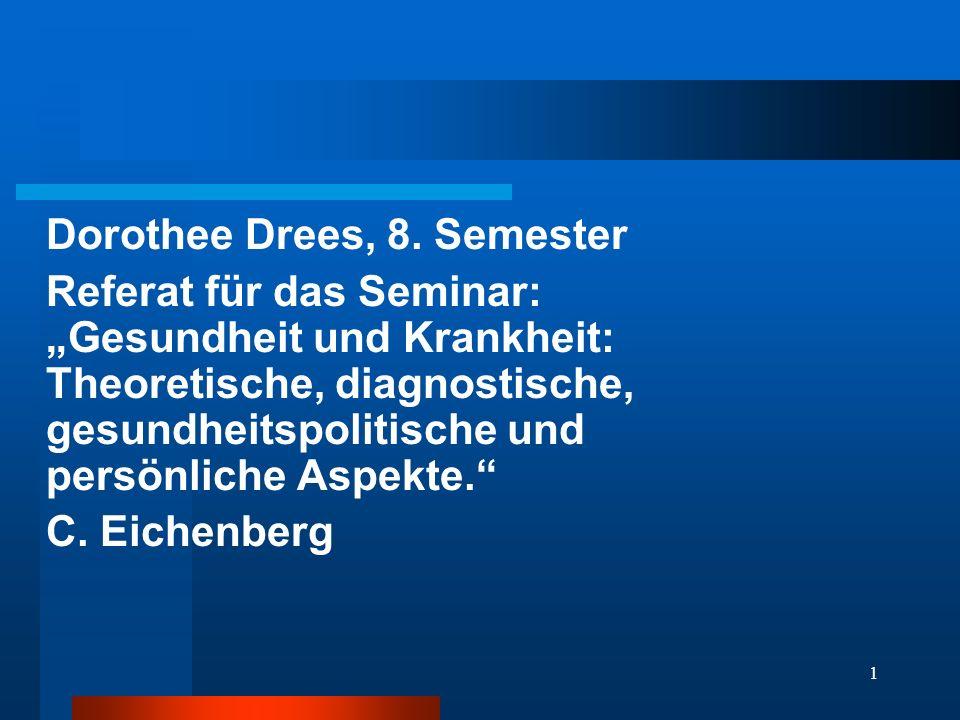 Dorothee Drees, 8. Semester