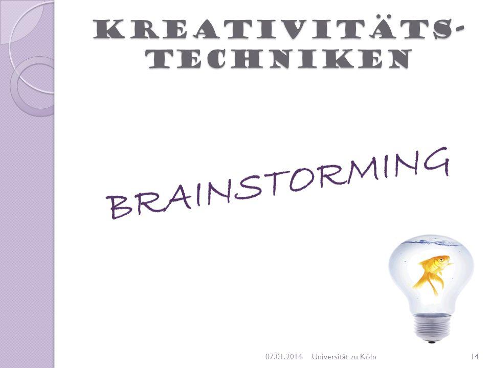 Kreativitäts-techniken