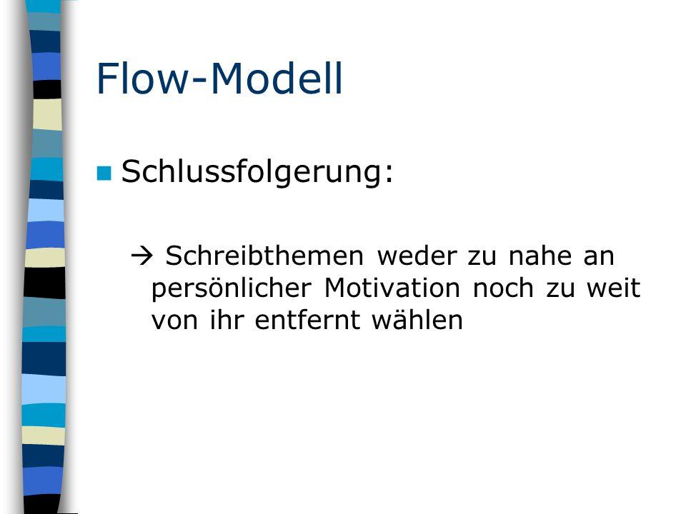 Flow-Modell Schlussfolgerung: