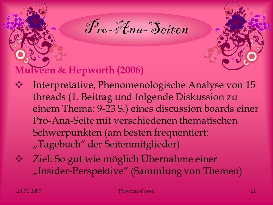 Mulveen & Hepworth (2006)