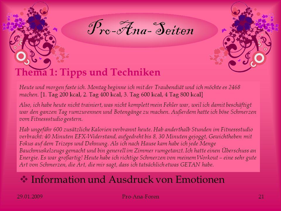 Thema 1: Tipps und Techniken