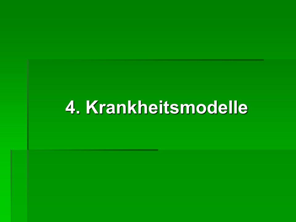 4. Krankheitsmodelle