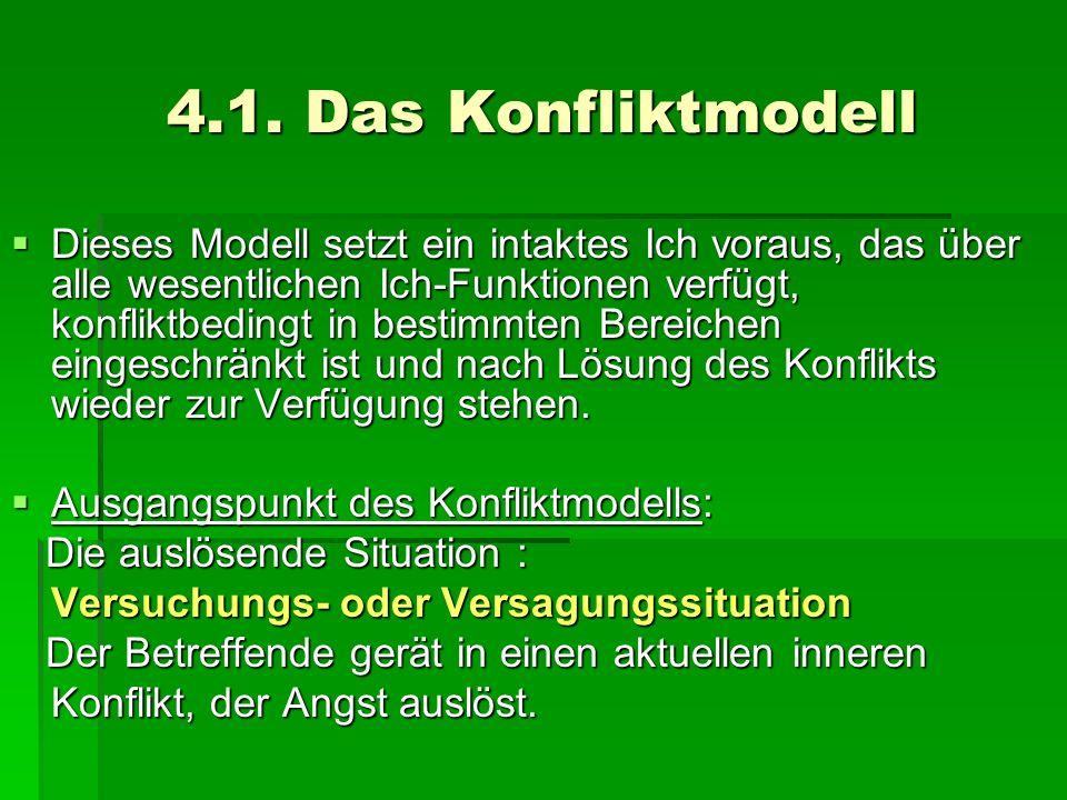 4.1. Das Konfliktmodell