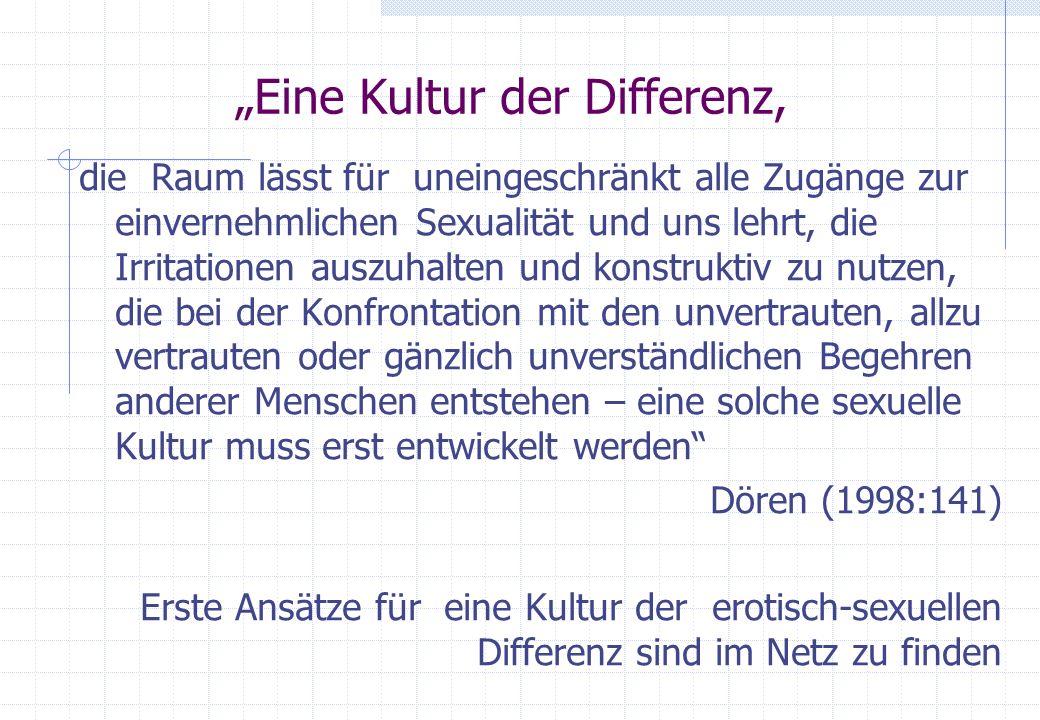 """""""Eine Kultur der Differenz,"""