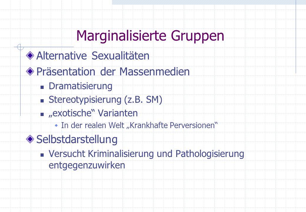 Marginalisierte Gruppen