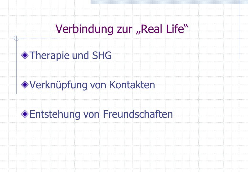 """Verbindung zur """"Real Life"""