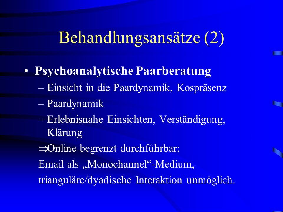 Behandlungsansätze (2)