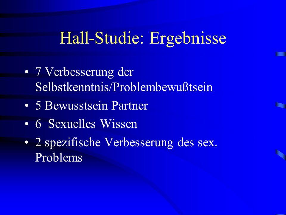 Hall-Studie: Ergebnisse