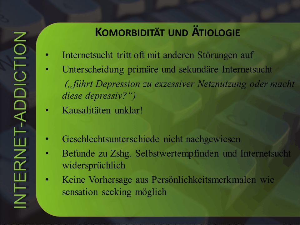 Komorbidität und Ätiologie