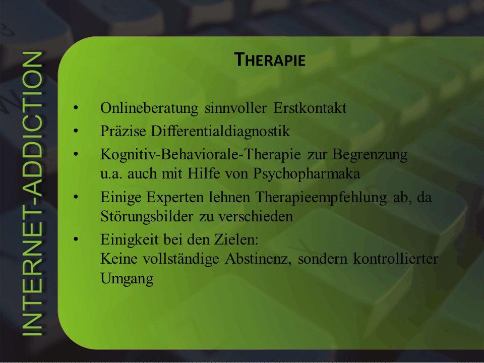 Therapie Onlineberatung sinnvoller Erstkontakt