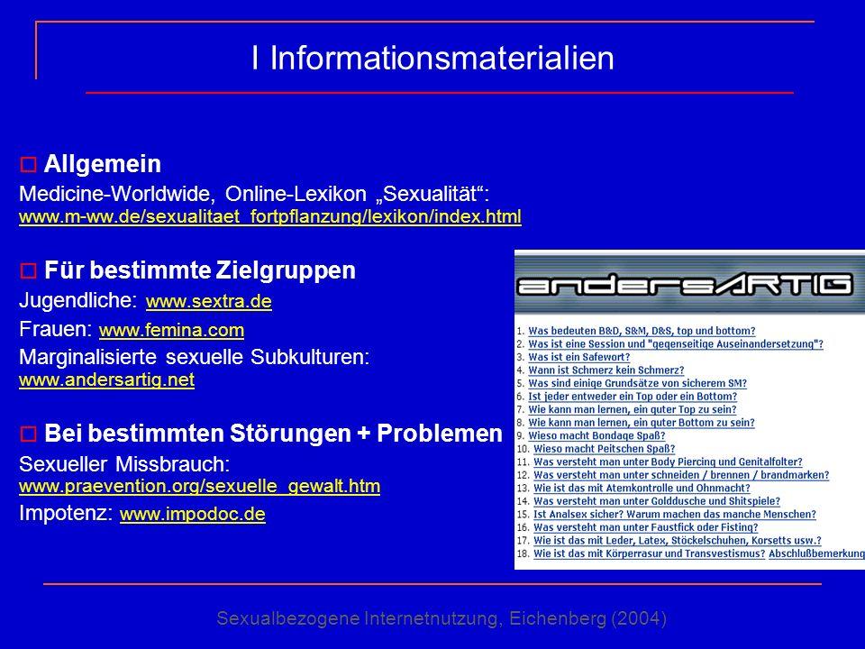 I Informationsmaterialien