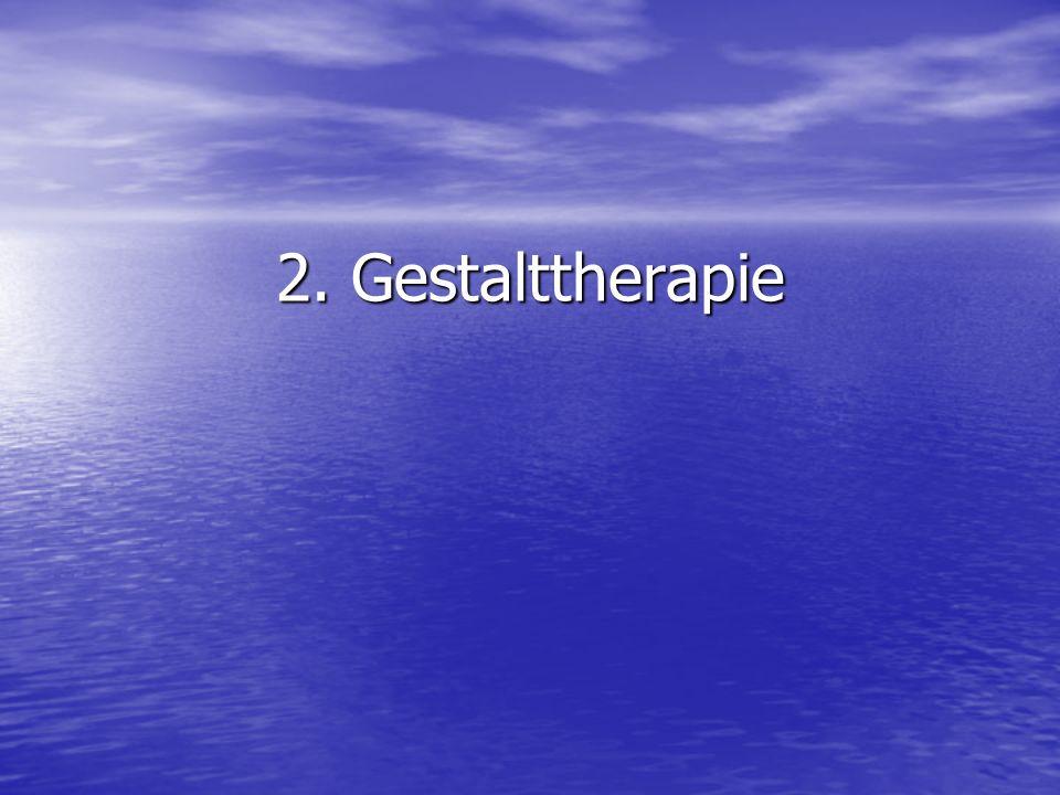 2. Gestalttherapie