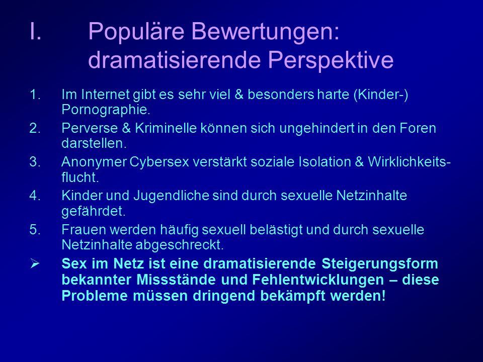 Populäre Bewertungen: dramatisierende Perspektive