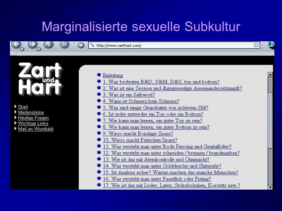 Marginalisierte sexuelle Subkultur