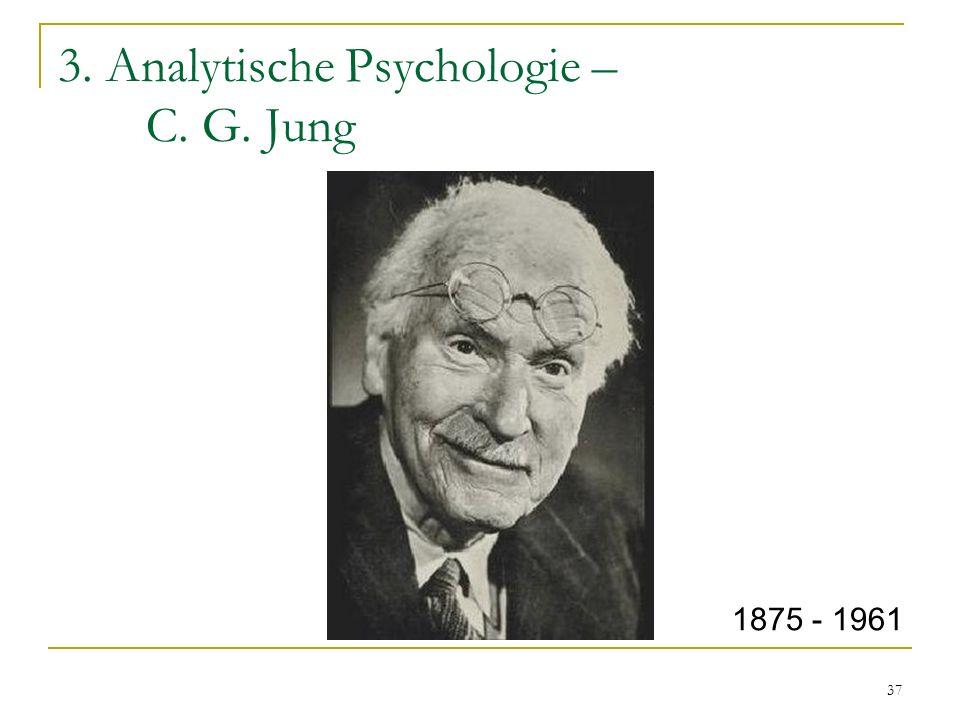 3. Analytische Psychologie – C. G. Jung