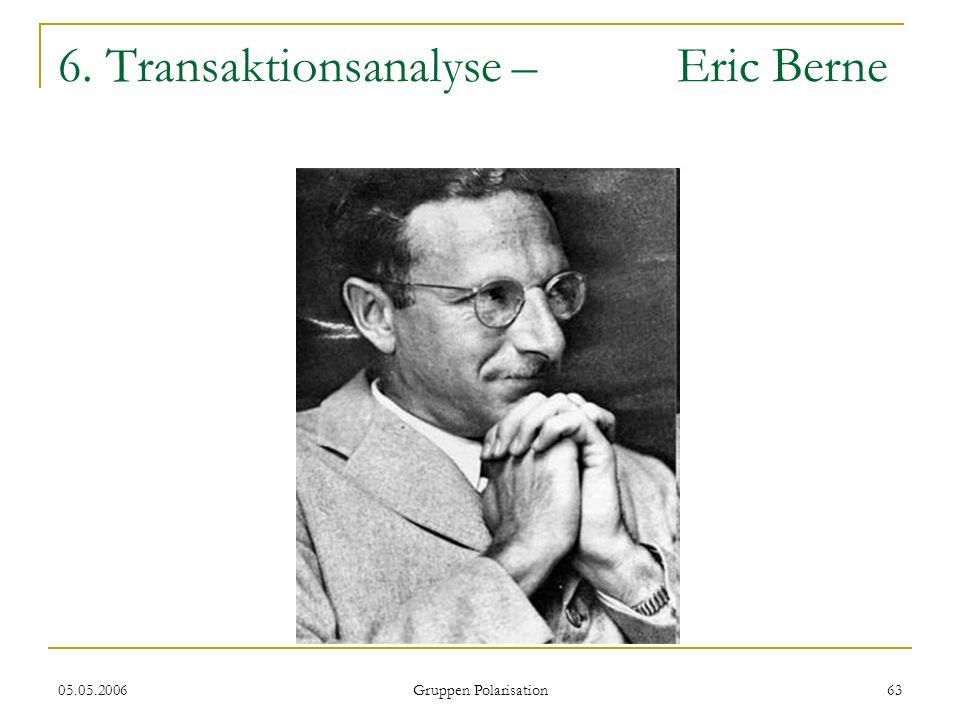6. Transaktionsanalyse – Eric Berne