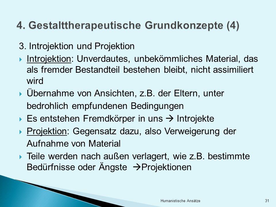 4. Gestalttherapeutische Grundkonzepte (4)