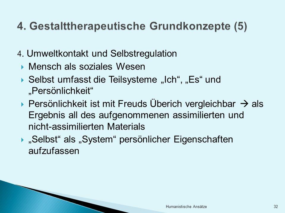 4. Gestalttherapeutische Grundkonzepte (5)