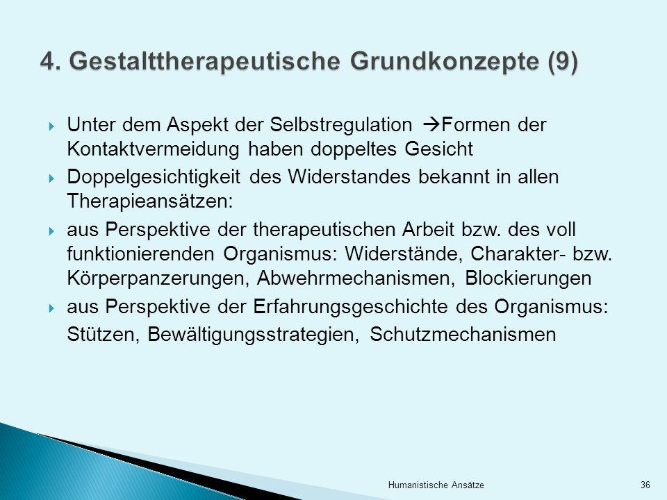 4. Gestalttherapeutische Grundkonzepte (9)