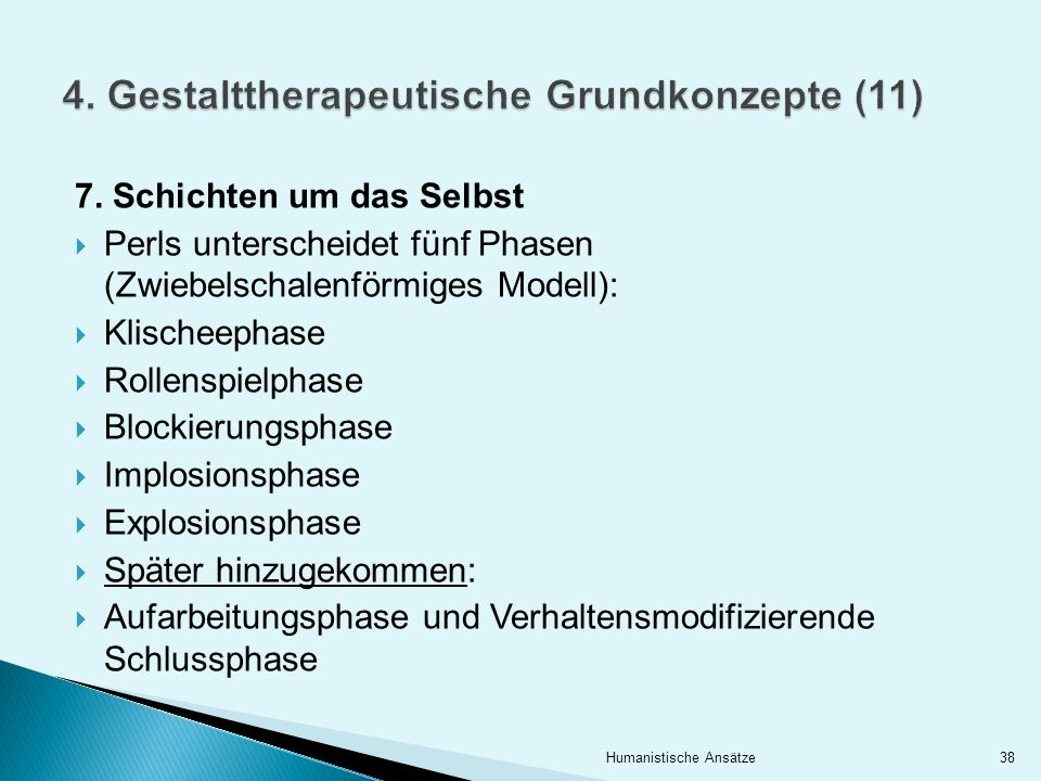 4. Gestalttherapeutische Grundkonzepte (11)