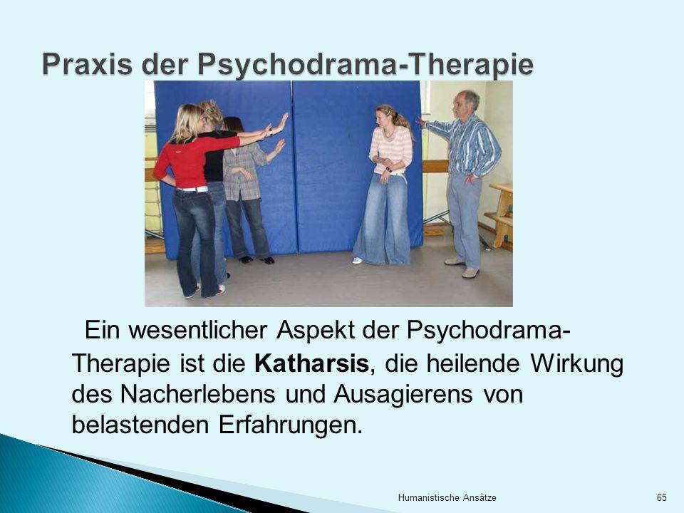 Praxis der Psychodrama-Therapie