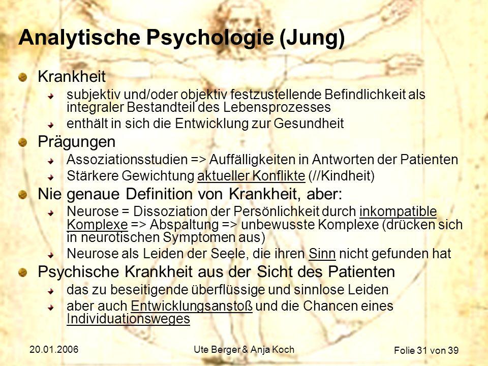 Analytische Psychologie (Jung)