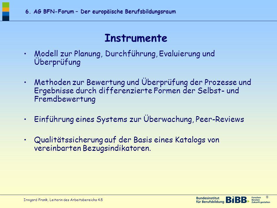Instrumente Modell zur Planung, Durchführung, Evaluierung und Überprüfung.