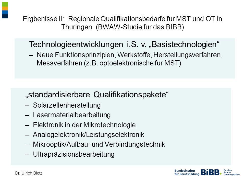 "Technologieentwicklungen i.S. v. ""Basistechnologien"