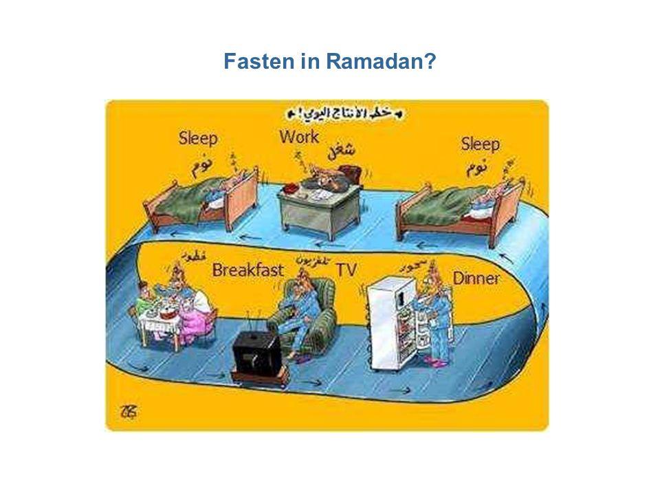 Fasten in Ramadan