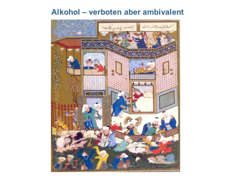 Alkohol – verboten aber ambivalent