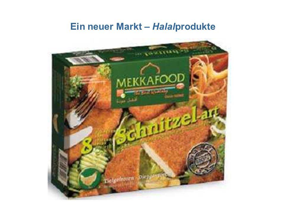 Ein neuer Markt – Halalprodukte