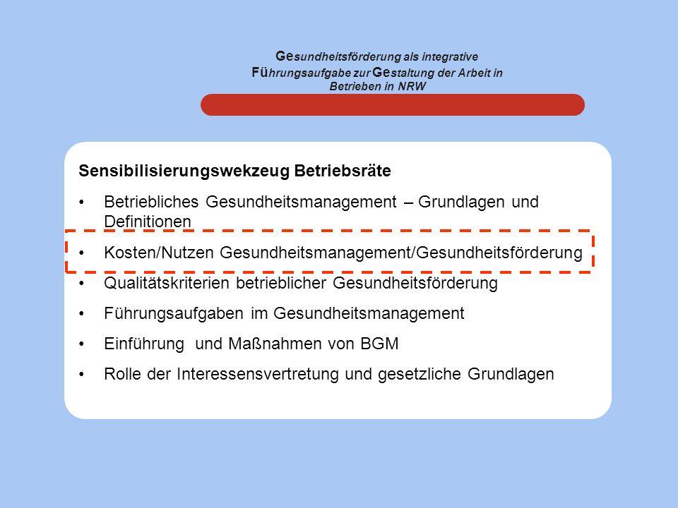 Sensibilisierungswekzeug Betriebsräte