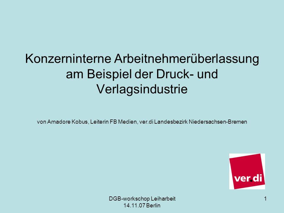 DGB-workschop Leiharbeit 14.11.07 Berlin