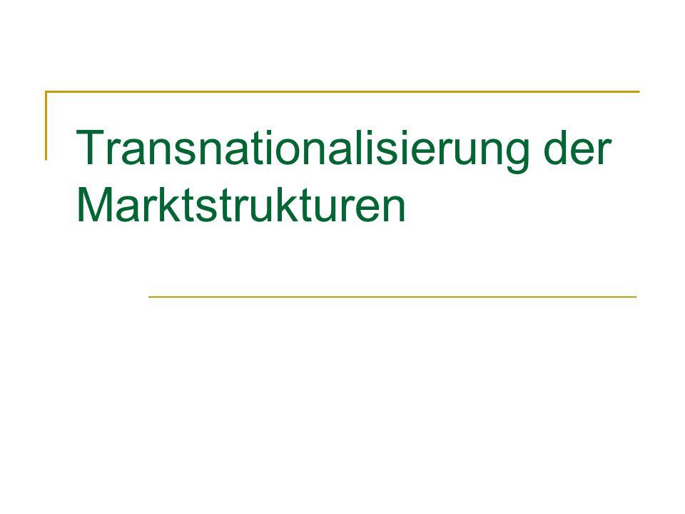 Transnationalisierung der Marktstrukturen