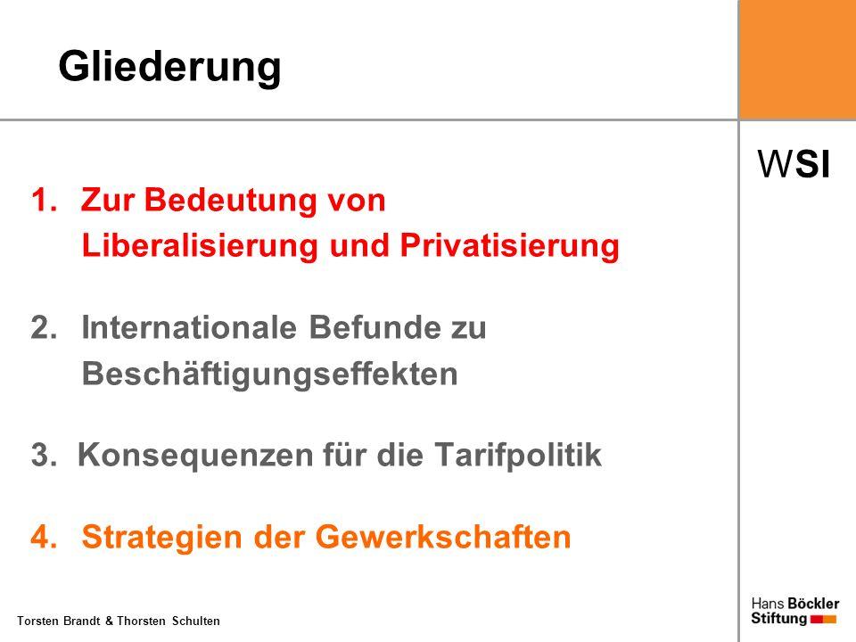 Gliederung 1. Zur Bedeutung von Liberalisierung und Privatisierung