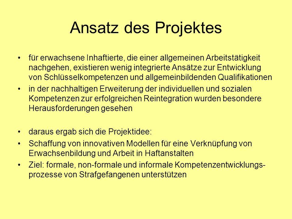 Ansatz des Projektes