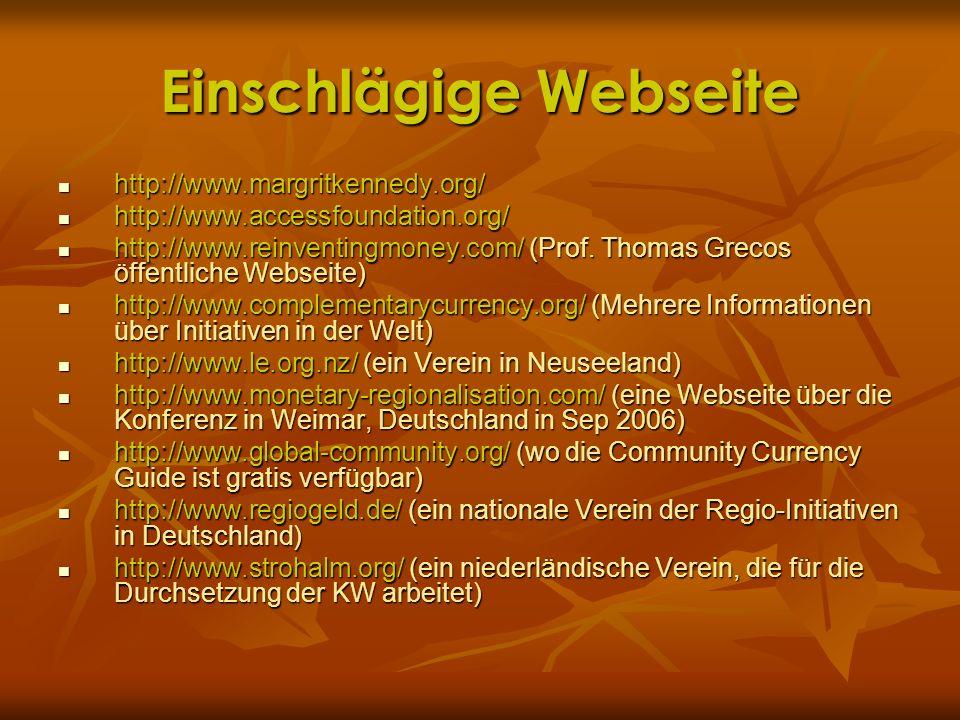 Einschlägige Webseite