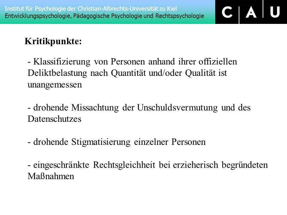 Klassifizierung von Personen anhand ihrer offiziellen