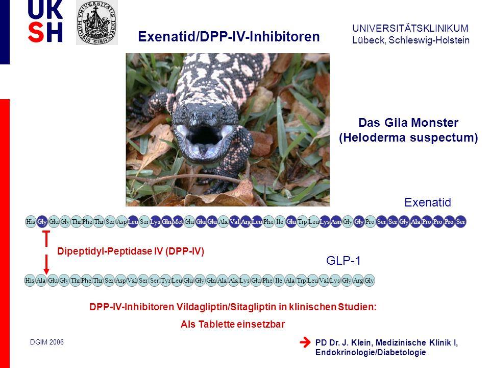 Exenatid/DPP-IV-Inhibitoren