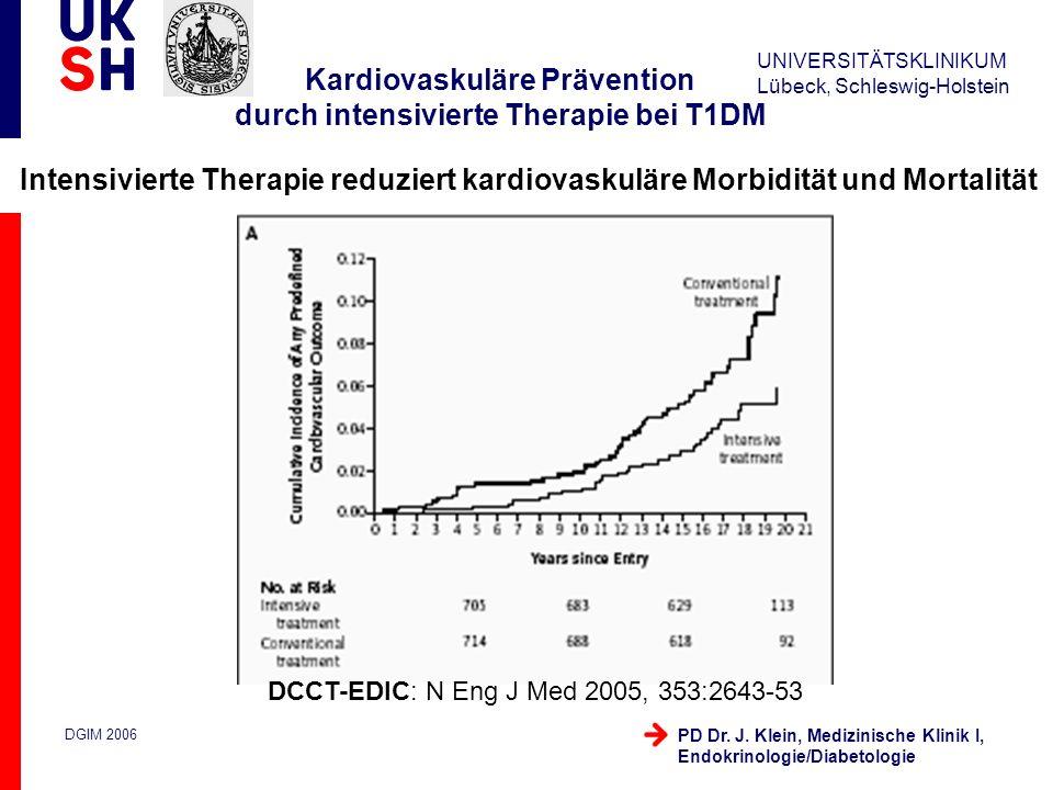 Kardiovaskuläre Prävention durch intensivierte Therapie bei T1DM