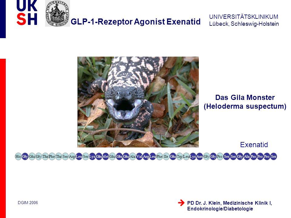GLP-1-Rezeptor Agonist Exenatid