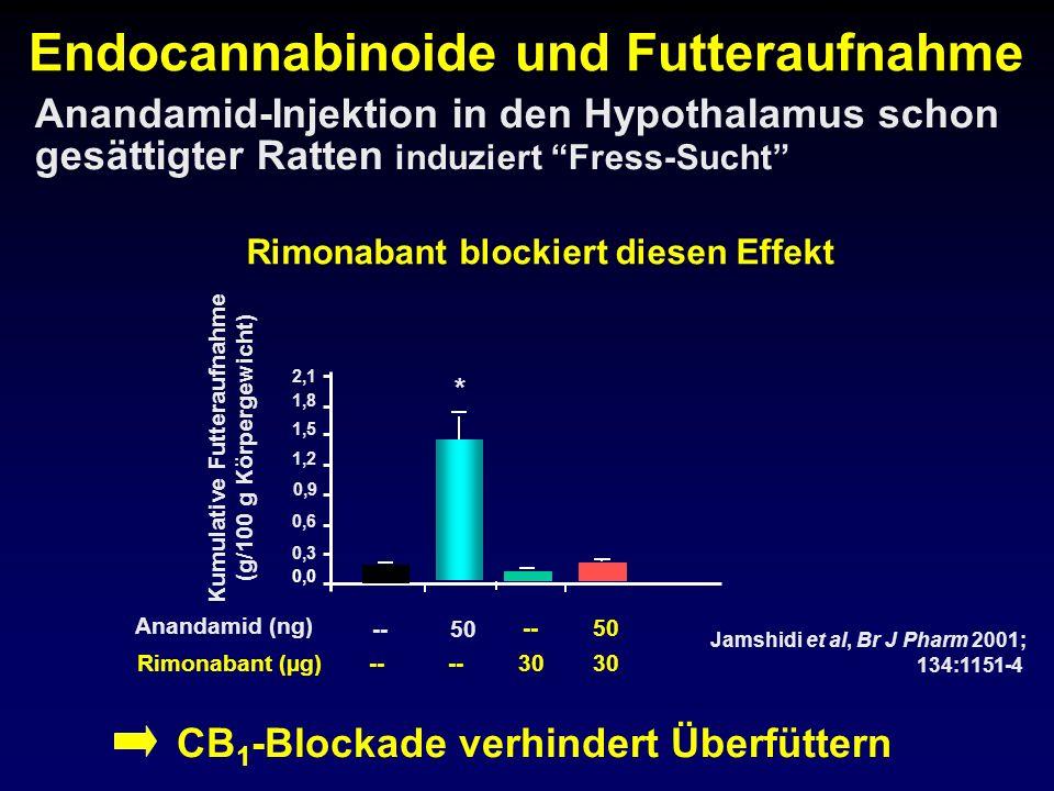 Endocannabinoide und Futteraufnahme
