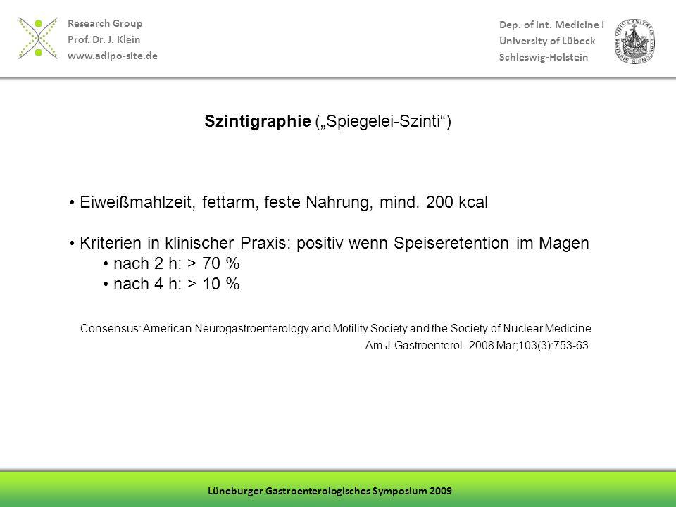 """Szintigraphie (""""Spiegelei-Szinti )"""