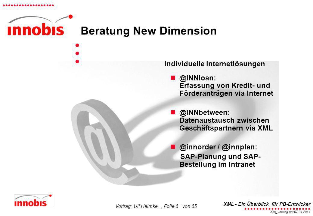 ... Beratung New Dimension Individuelle Internetlösungen