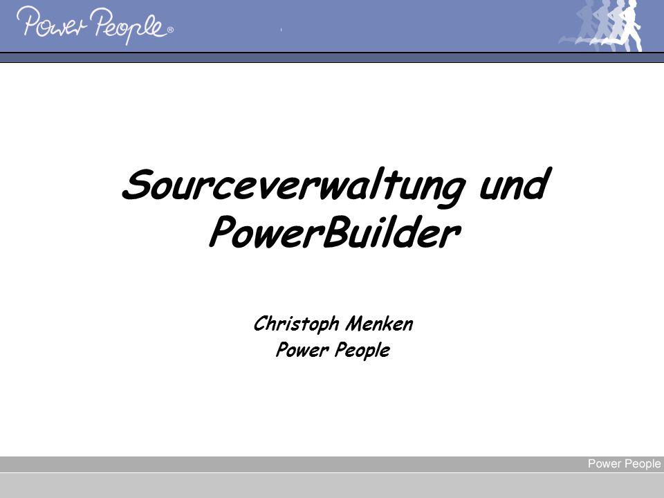 Sourceverwaltung und PowerBuilder