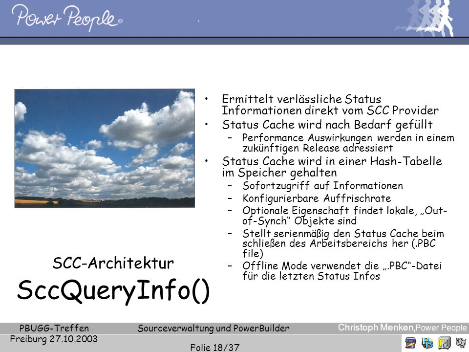 SCC-Architektur SccQueryInfo()