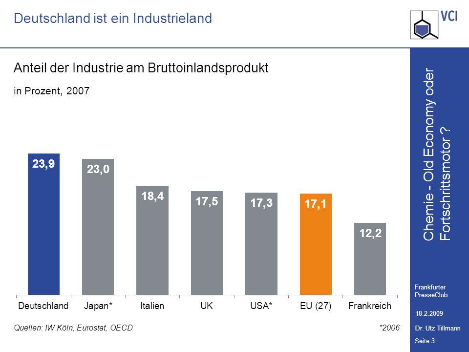 Deutschland ist ein Industrieland