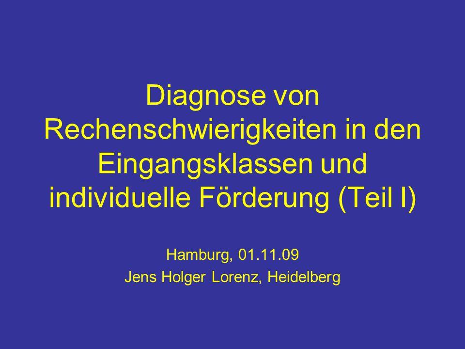 Hamburg, 01.11.09 Jens Holger Lorenz, Heidelberg