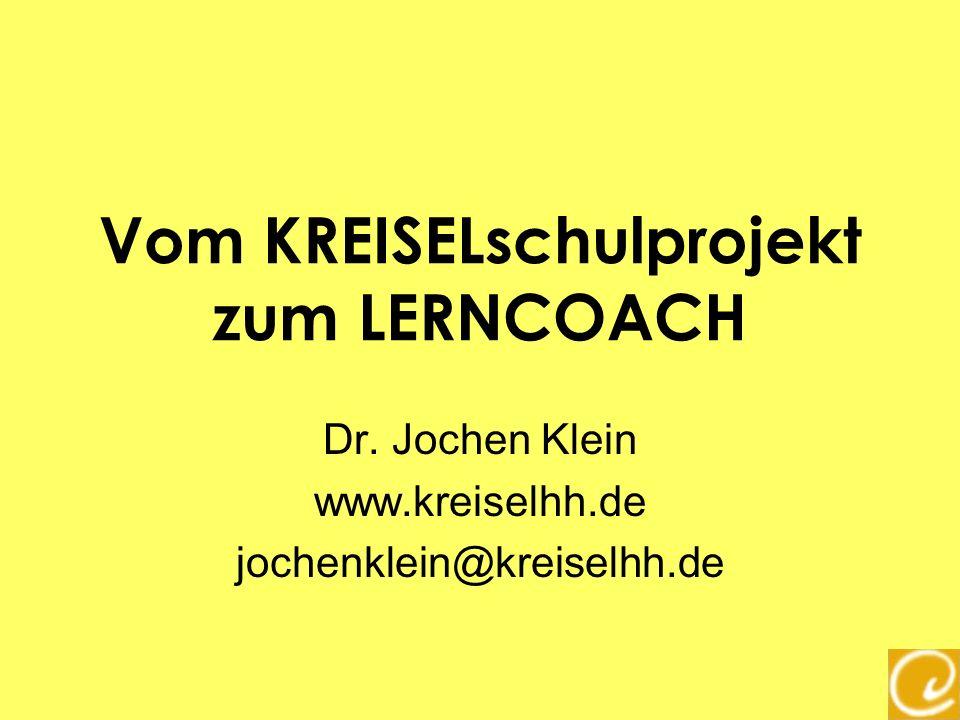 Vom KREISELschulprojekt zum LERNCOACH