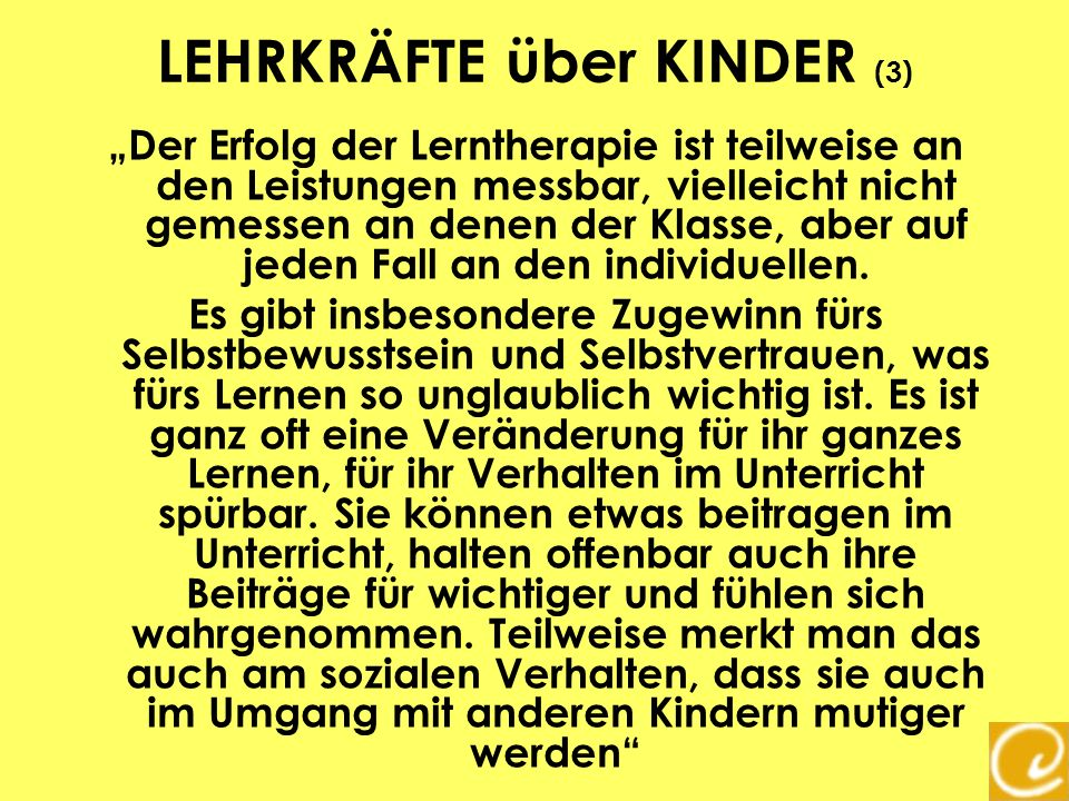 LEHRKRÄFTE über KINDER (3)
